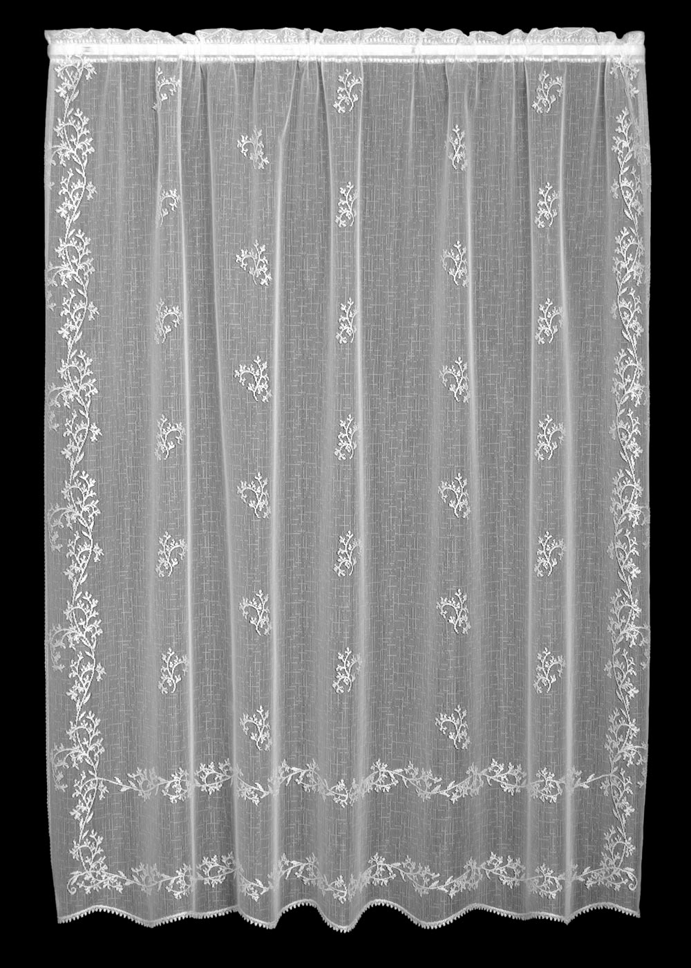 Heritage Lace Sheer Divine Panel 2 Sizes And 3 Colors