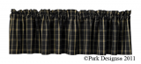 Park Designs Blackstone Valances-2 Styles