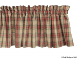 Park Designs Cinnamon Valances- 2 Styles