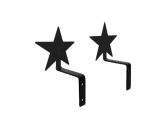 Village Wrought Iron Swag Hooks- 8 Styles