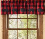 Park Designs Buffalo Check Valances-2 Styles