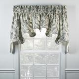 Ellis Curtain Artissimo Lined Duchess Valance - 2 Colors