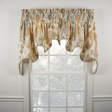 Ellis Curtain Terlina Lined Duchess Valance - 2 Colors