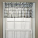 Ellis Curtain Bristol Plaid Tailored Valance - 2 Colors