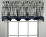 Ellis Curtain Bristol Plaid Bradford Valance - 2 Colors