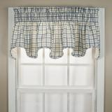 Ellis Bristol Plaid Scallop Valance - 2 Colors