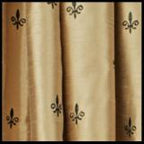 Ellis Curtain Fleur De Lis Tailored Valance - 3 Colors