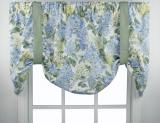 Ellis Curtain Hydrangea Tie Up Valance