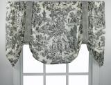 Ellis Curtain Victoria Park Tie Up Valance - 4 Colors